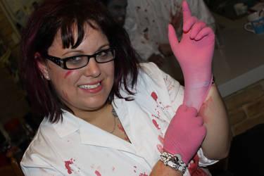 Halloween: Sexy Mad Scientist by Brandrvael