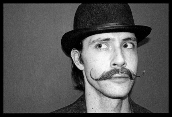 mustache by joshandheather