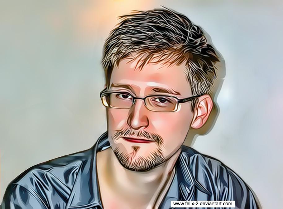 Edward Snowden by Felix-2