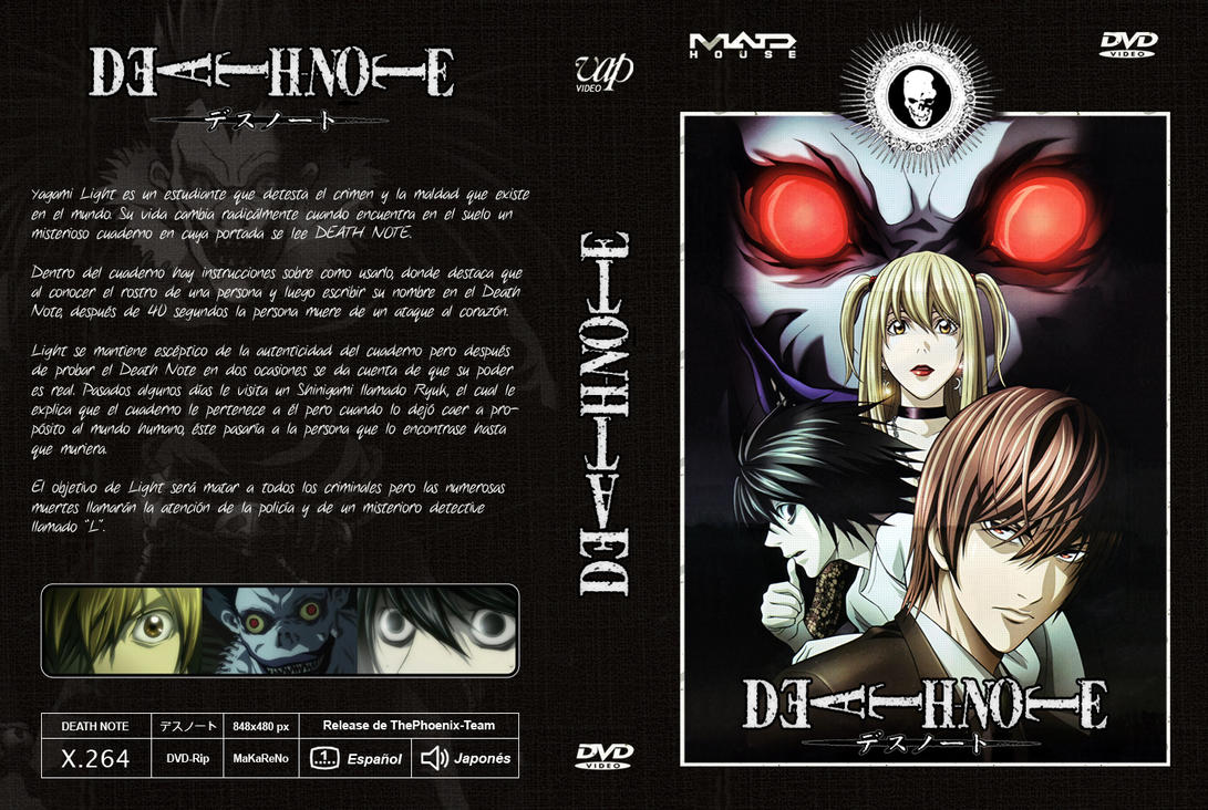 Death Note - CARATULA DVD by MaKaReNo on DeviantArt
