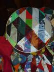 WIP 2 scrap quilt