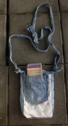 Turtle bookbag closed by BellaGBear