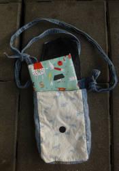 Turtle bookbag open by BellaGBear