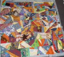 Picknick quilt WIP by BellaGBear