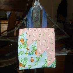 Quilted mini bag by BellaGBear