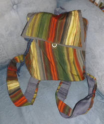 Colourful backpack by BellaGBear