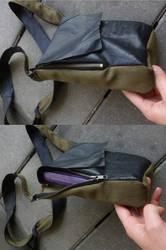 A faux leather peek-a-bookbag 2 by BellaGBear