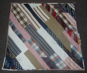 Pinwheel quilt FINISHED back by BellaGBear