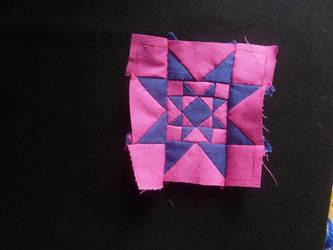 Dear Jane corner kite WIP by BellaGBear