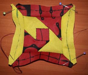 Kenyan quilt block 2 by BellaGBear