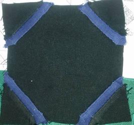 Dear Jane quilt block D-6: challenge by BellaGBear