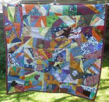 Picknick scrap quilt