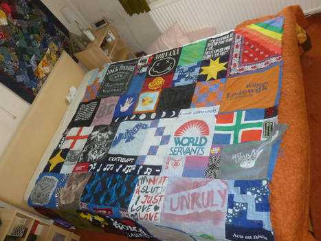 Big quilt top for lovely friend