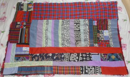 Mini blanket quilt