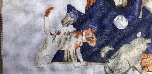 Death of Discworld cross stitch detail 2