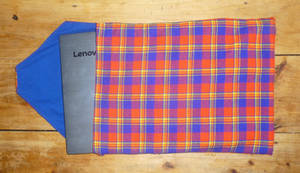 Maasai laptop sleeve