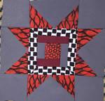 Blazing Sun kitenge pillow by BellaGBear