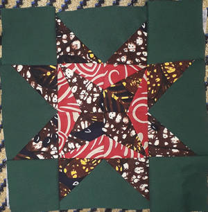 Lost in the Woods kitenge pillow