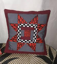 Blazing sun Kitenge pillowcase