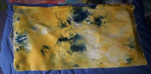 Dyed cross stitch fabric 4