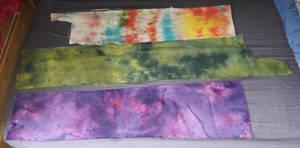 Dyed cross stitch fabric 6