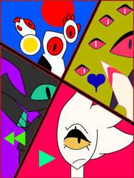 Fave Four by Darkmenwar787