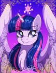 MLPortrait: Twilight Sparkle (Art Trade)