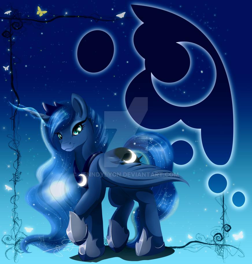 MLPortrait: Luna by JeNnDyLyOn