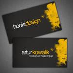 business card - hooki design