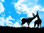 couple of deers...