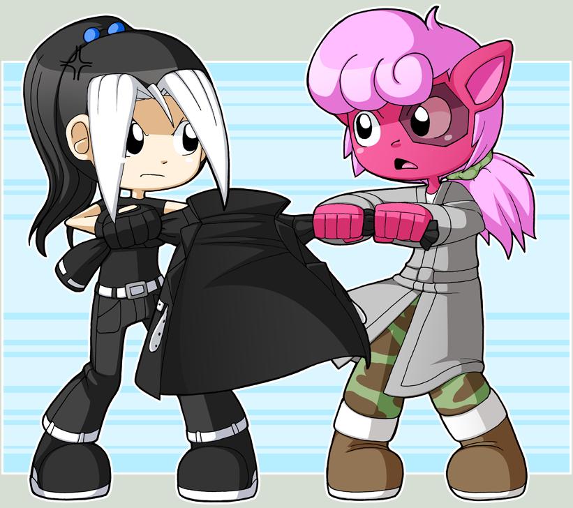 Good black cube gals - 1 3