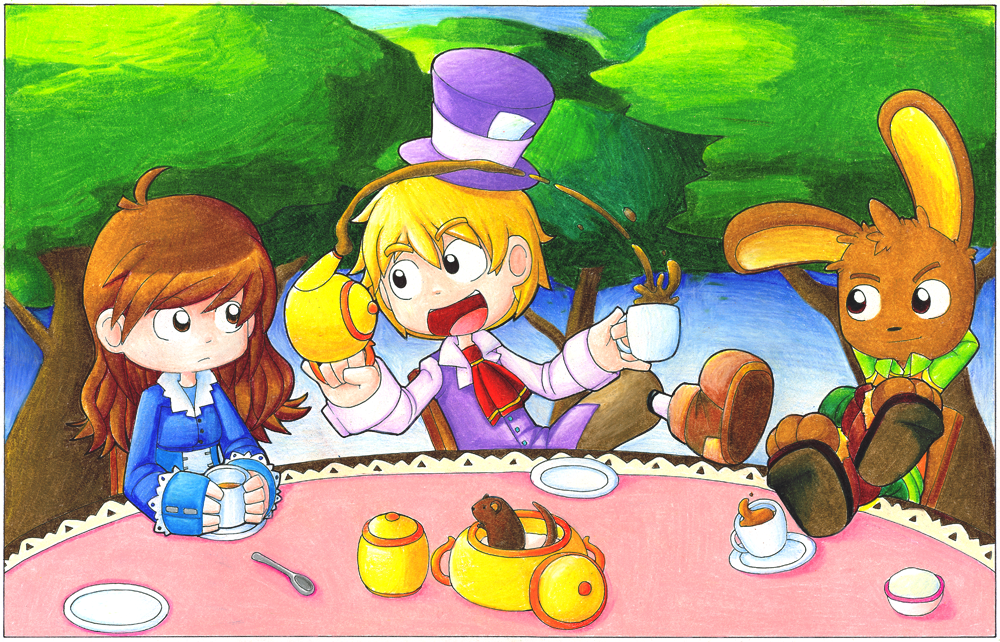 Tea Party, you know the one by CubeWatermelon