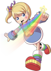 Rainbow Brite by CubeWatermelon