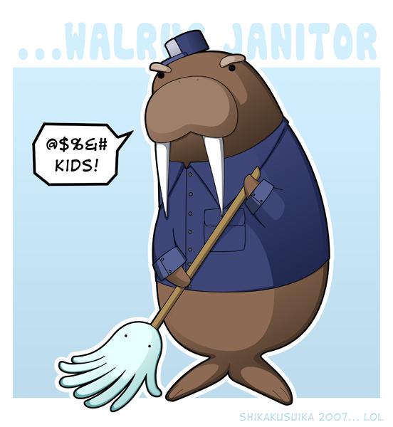 I Support Walruses by stixman on DeviantArt