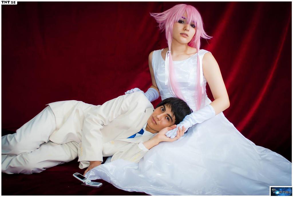 Yukiteru Amano x Yuno Gasai by Yerabi y Angelica by ...