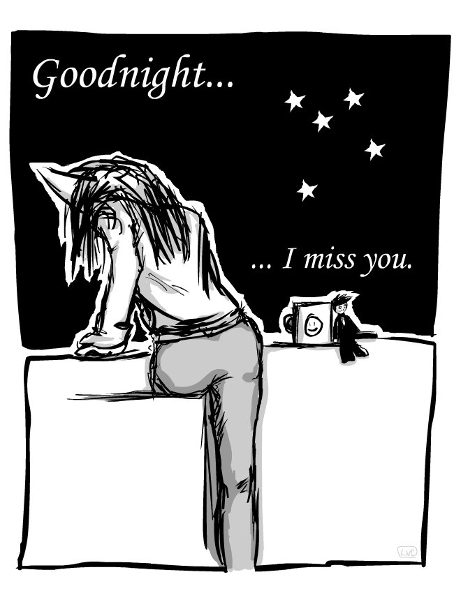 Goodnight I Miss You By Loveshy On Deviantart