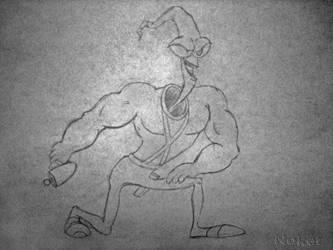 Jim Lombriz Sketch by Noker666