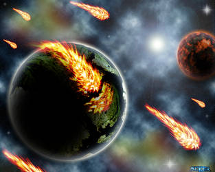 Planet Destruction by Noker666