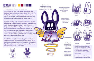 ARTEU: EQUIIS Character sheet by rinovarka