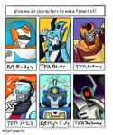 Transformers Animated and Rescue Bots Sixfanart by rinovarka