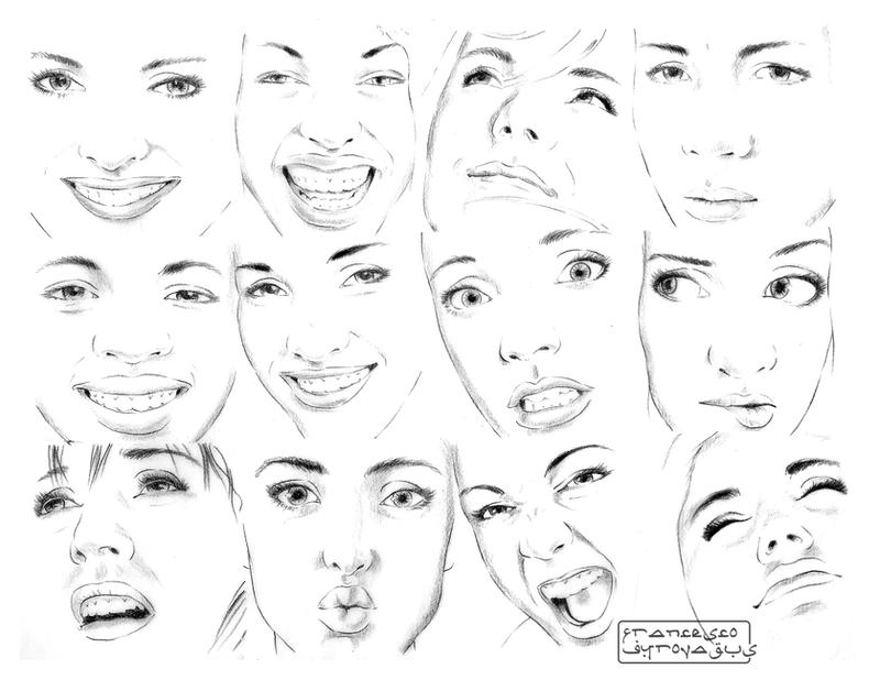 face sketch III by Gyrovagus