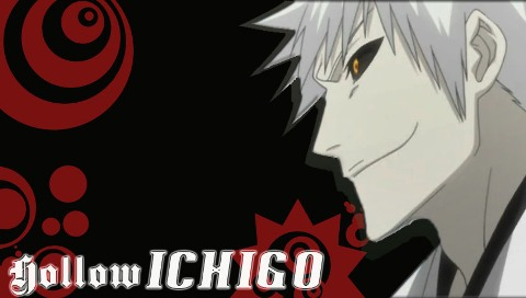 hollow ichigo wallpaper. Hollow Ichigo-PSP Wallpaper