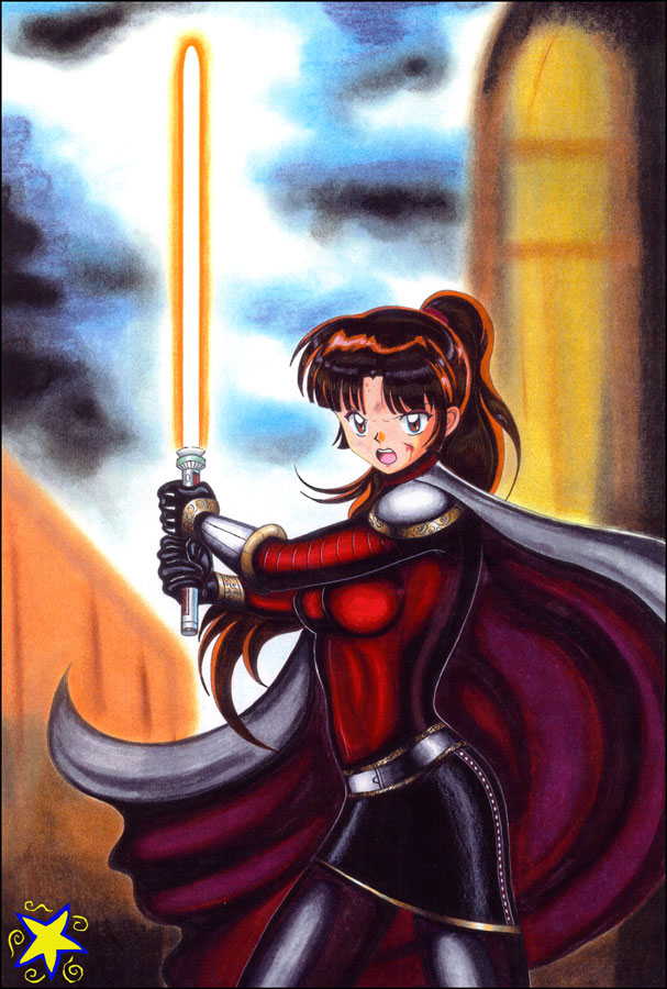 Jedi Sango  Pre-Republic by ZiemosPendric
