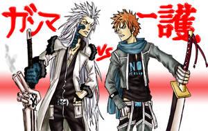 Gamma VS. Ichigo by faust7