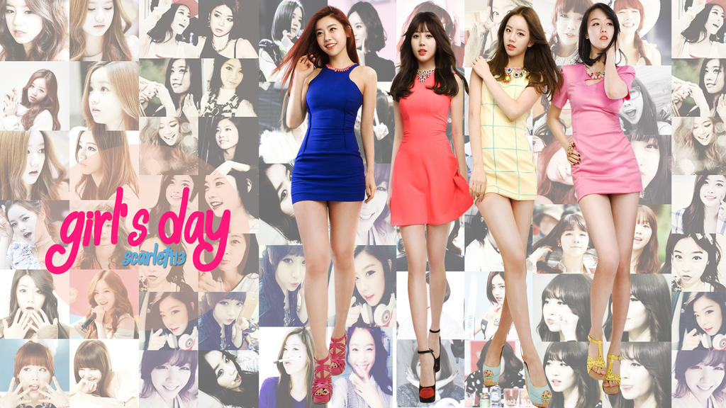 Girl's Day Wallpaper by Scarlet113 on DeviantArt