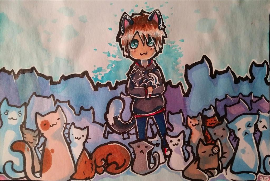 MEW! :3 :D by BluShadowAthenaAJ