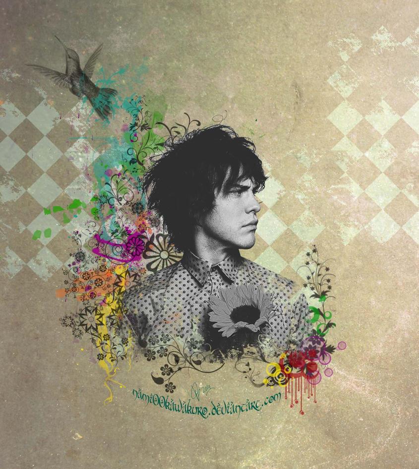 Vintage Grunge Collage (Andrew Vanwyngarden) by Nami00Kawakuro