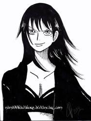 Rika long hair