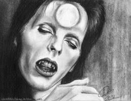 David Bowie - Vampire by Nami00Kawakuro