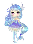 Chibi Commission for OtomeYoukaiTemeraire